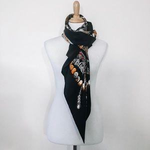 Authentic Hermes Silk Twill Scarf TerresPrecieuses